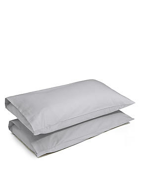 2er-Pack hochwertige Kissenbezüge, GRAU, catlanding