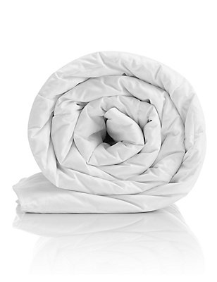Supremely Washable 13.5 Tog Duvet, WHITE, catlanding