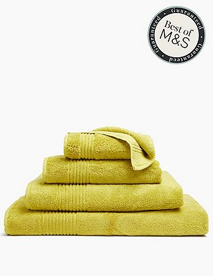 Luxury Egyptian Cotton Towel, LIME, catlanding