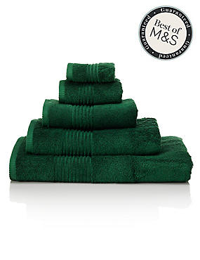 Luxury Egyptian Cotton Towel, FOREST GREEN, catlanding