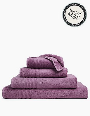 Luxury Egyptian Cotton Towel, AMETHYST, catlanding
