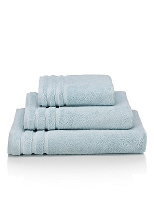 Spa Towel, DUCK EGG, catlanding