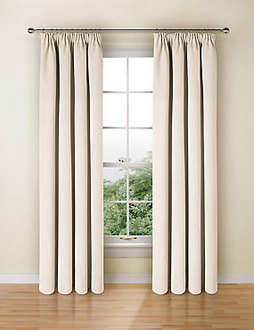 Blackout Curtains, IVORY, catlanding