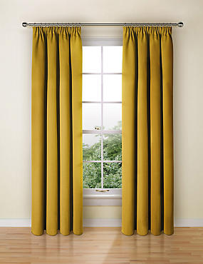 Blackout Curtains, OCHRE, catlanding