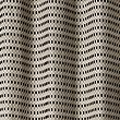 Chenille Dotty Eyelet Curtains, BLACK MIX, swatch