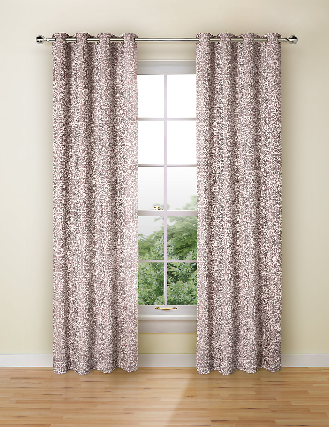 Chenille jacquard curtains