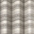 Geo Chenille Curtain, NATURAL, swatch