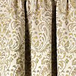 Trezo Damask Curtains, OCHRE, swatch