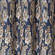 Rosalie Jacquard Eyelet Curtains, BLUE MIX, swatch