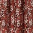 Rosalie Jacquard Eyelet Curtains, TERRACOTTA MIX, swatch
