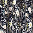 Floral Print Curtains, NAVY MIX, swatch