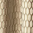Velvet Oval Curtain, GOLD MIX, swatch