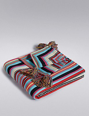 Peru Design Throw, , catlanding