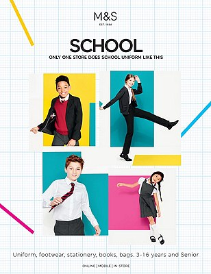 School Uniform Brochure, NO COLOUR, catlanding