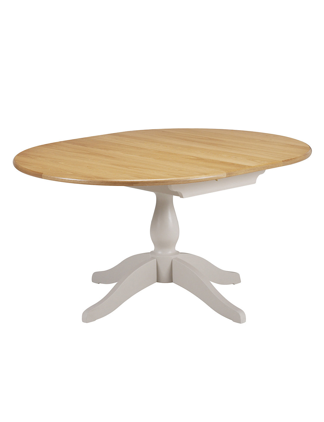 padstow round extended dining table