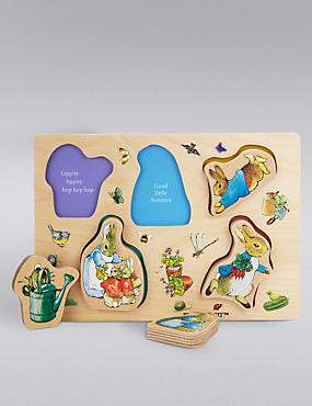 Peter Rabbit™ Wooden Puzzle, , catlanding