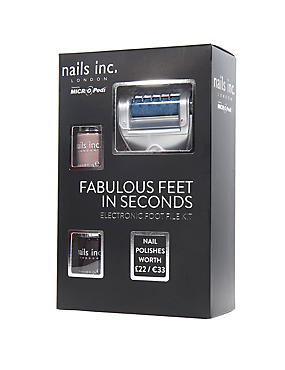 Nails Inc Gift Set with 2 Varnishes, , catlanding