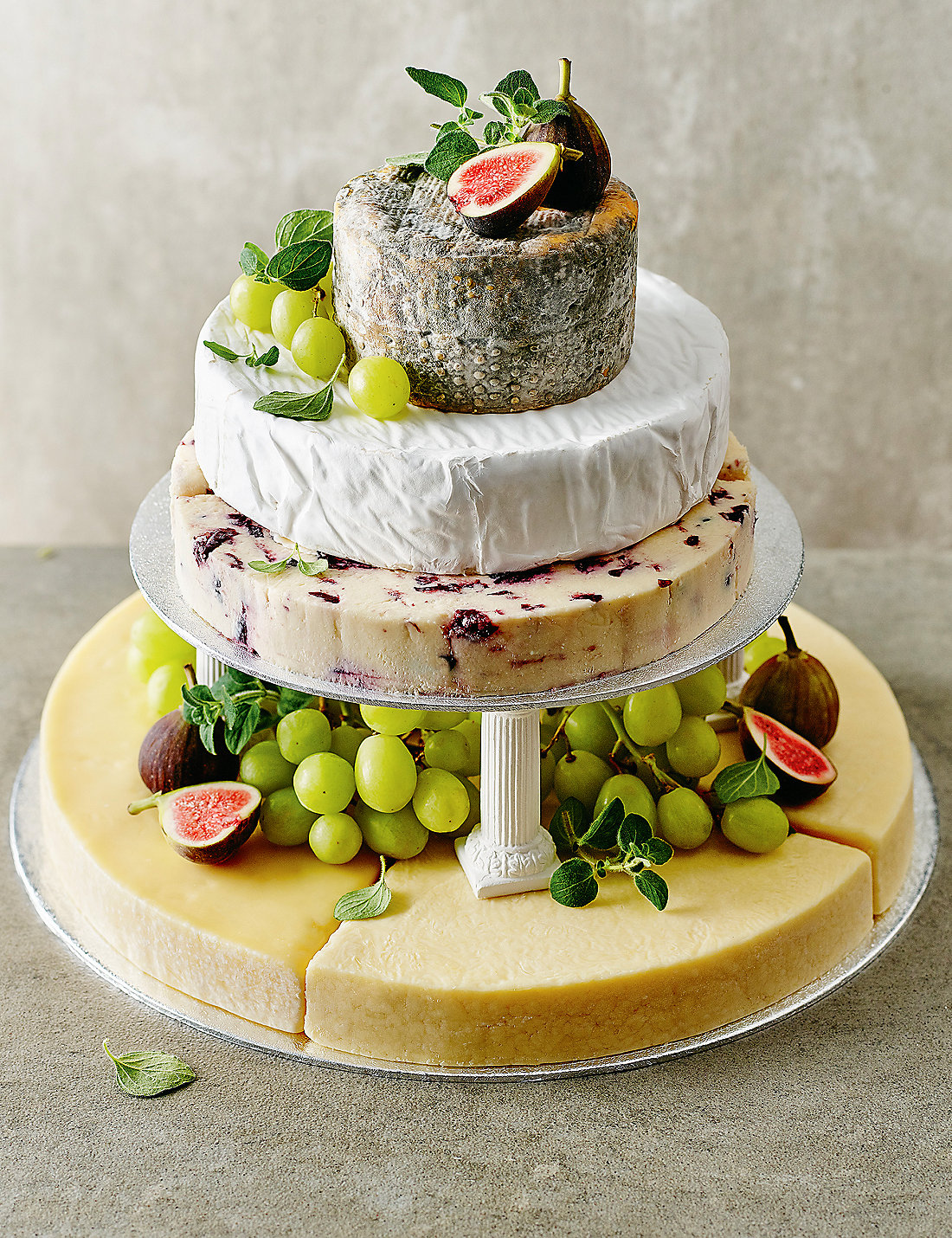 Small Cheese Celebration Cake Serves 50 70