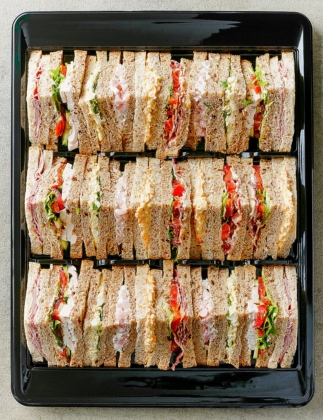 Party foods order party sandwiches platters online ms classic sandwich selection 30 quarters altavistaventures Images