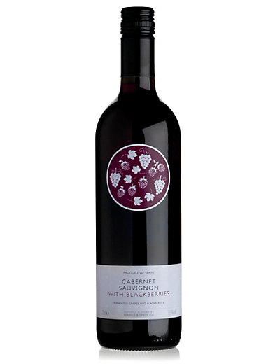 Cabernet Sauvignon with Blackberries NV - Case of 6 Wine