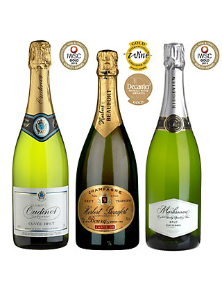 Gold Medal Winning Sparkling Wines - Case of 6 Wine