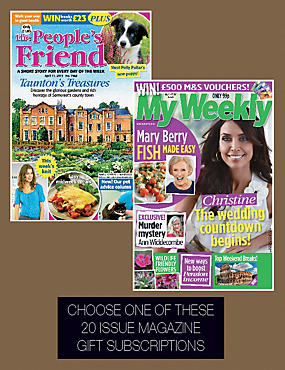 Peoples Friend / My Weekly - Magazine Gift Subscription