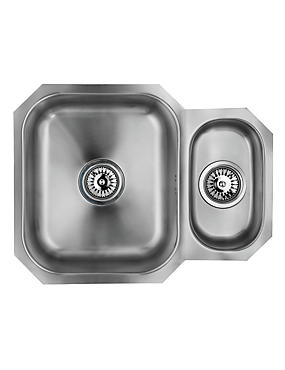 Stainless Steel 1½ Sink, , catlanding