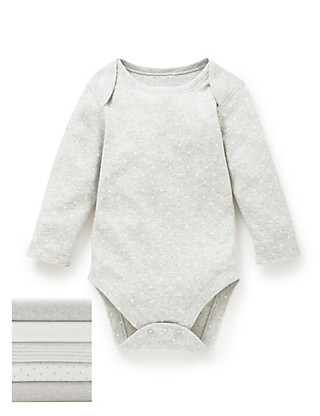 5 Pack Pure Cotton Star Bodysuits Clothing