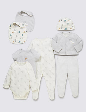 8 Piece Pure Cotton Duck Themed Starter Set