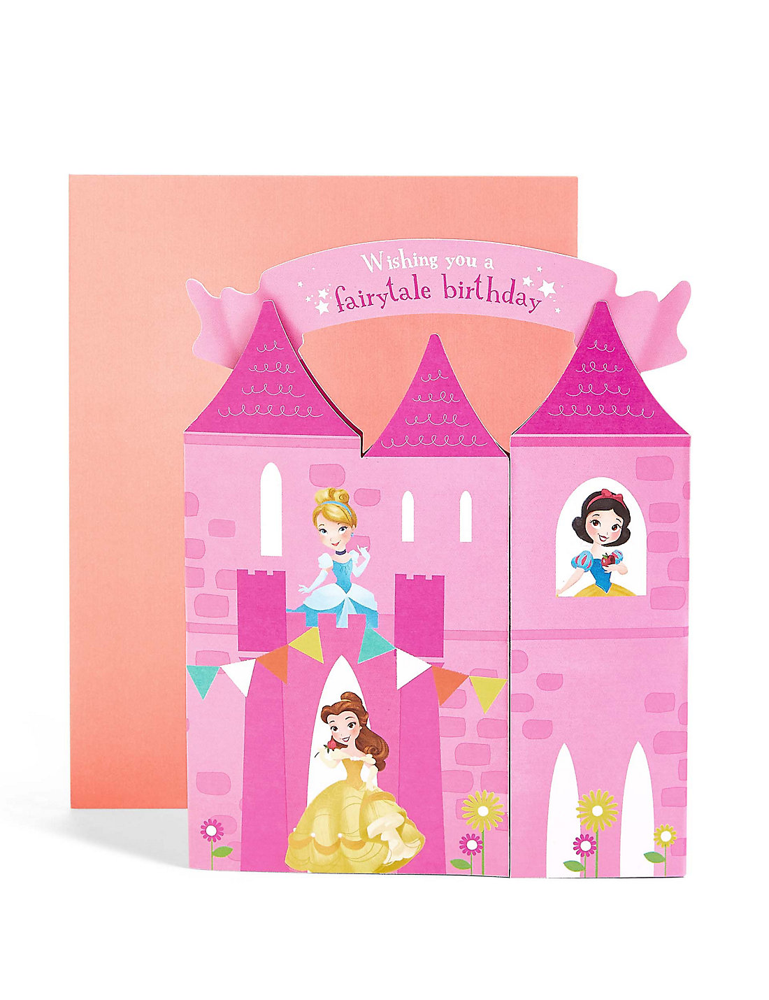 Kids cards birthday cards greeting cards for children ms pop up disney princesstrade castle scene birthday card kristyandbryce Image collections