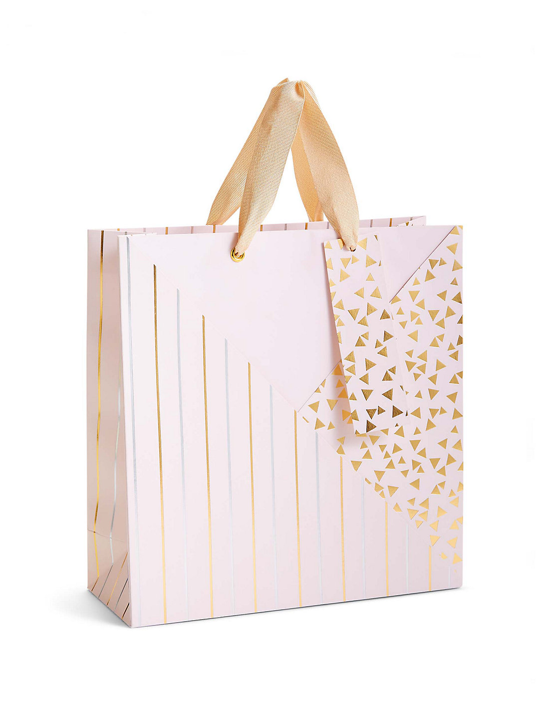 Gift bags christmas wedding gift bags ms pink gold silver pattern medium gift bag negle Choice Image