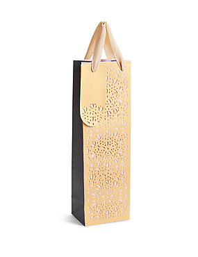 Gift boxes gift wrapping paper ribbons gift tags ms laser cut bottle bag negle Gallery