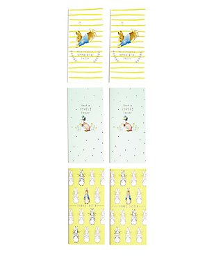 6 Beatrix Potter™ Peter Rabbit Easter Multipack Cards, , catlanding