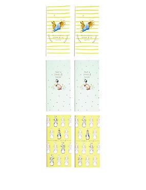 6 Beatrix Potter™ Peter Rabbit Easter Multipack Cards, , catlanding