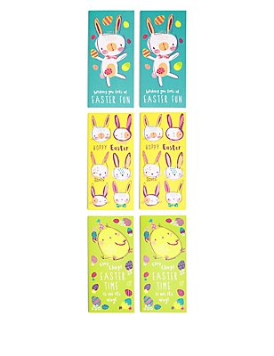 6 Fun Easter Multipack Cards, , catlanding