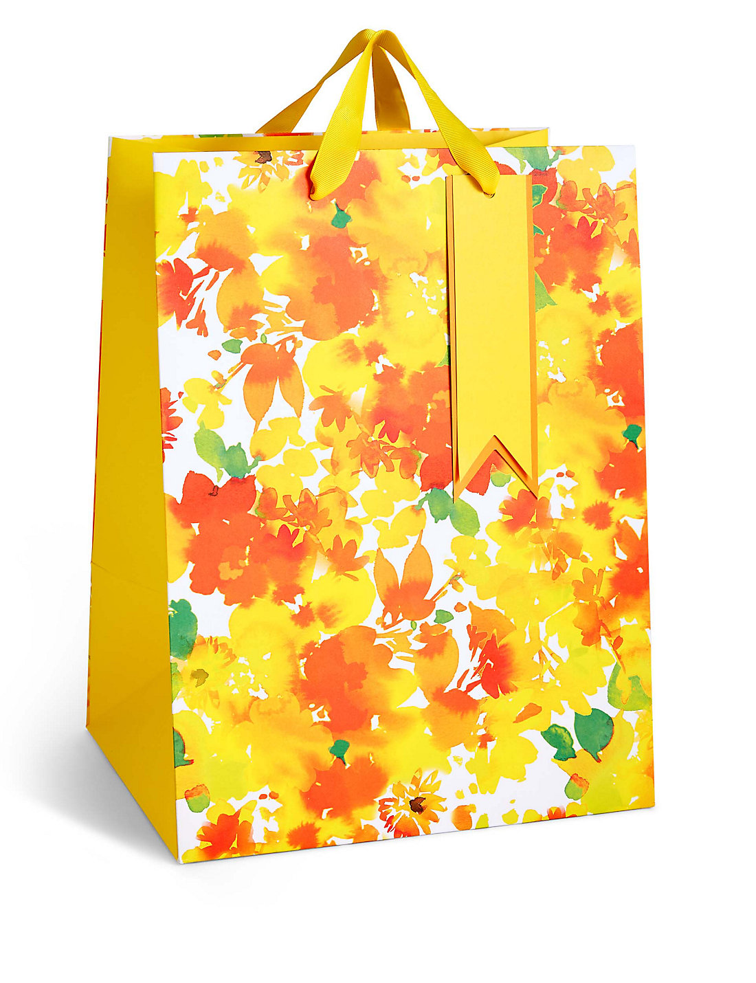 Watercolour floral large easter gift bag ms watercolour floral large easter gift bag negle Gallery