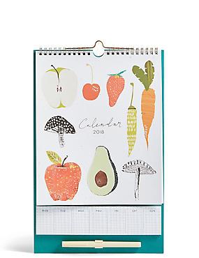 Kitchen 2018 Calendar, , catlanding