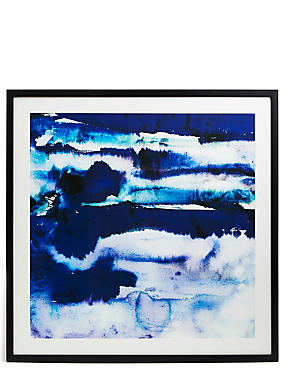 Amy Sia Santorini Wall Art, , catlanding