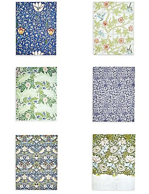 William Morris Set of 6 Prints, , catlanding