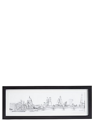 Catherine Stephenson London Sketch Wall Art, , catlanding