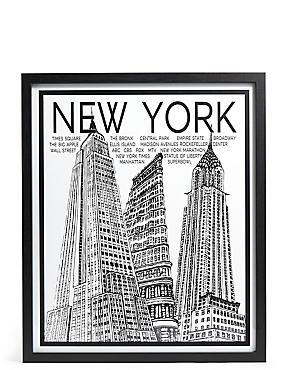 Catherine Stephenson New York Giants Wall Art, , catlanding