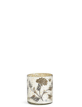 Renee Mercury Decal Tea Light Holder, , catlanding