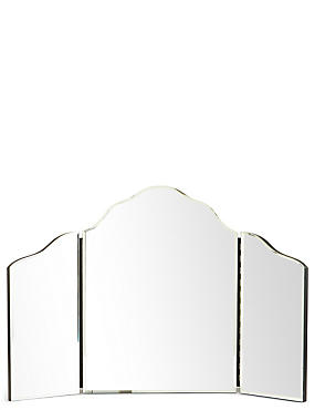Bevelled Edge Dressing Table Mirror, , catlanding