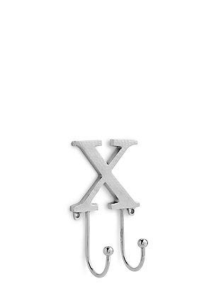 "Türhaken mit Buchstabendesign – ""X"", , catlanding"