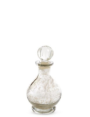 Silver Mercury Decorative Bottle, , catlanding