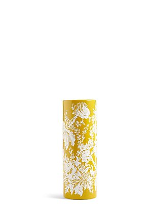 Flora Ceramic Vase, , catlanding