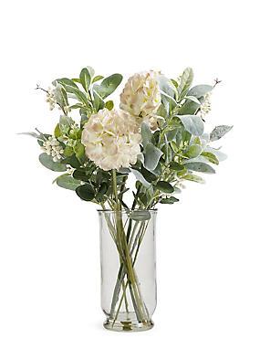 Retreat Footed Eucalyptus Vase, , catlanding