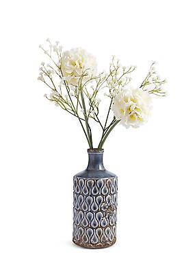 Large Allium in Ceramic Pot, , catlanding