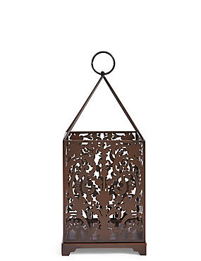 Large Boutique Lantern , COPPER, catlanding