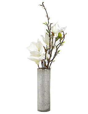 Magnolia & Pussywillow in Mercury Vase, , catlanding